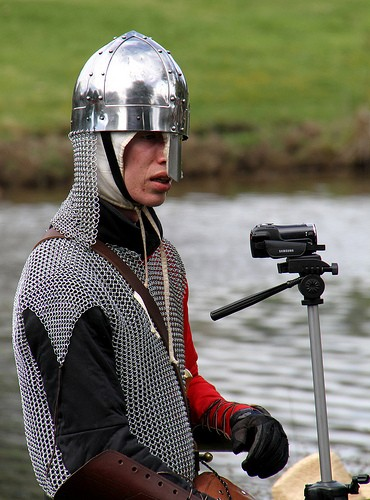 """Yeah my new camera is fantastic its even got knight vision on it."""