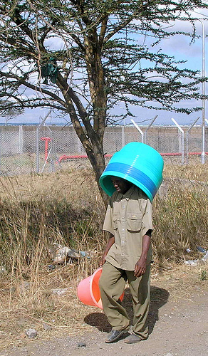 Gaetano hated it whenever the Comic Relief team were filming in his village. Not only did he have to walk around with the water bucket on his head,  but also for the whole week, the village chief confiscated everyones iPhone