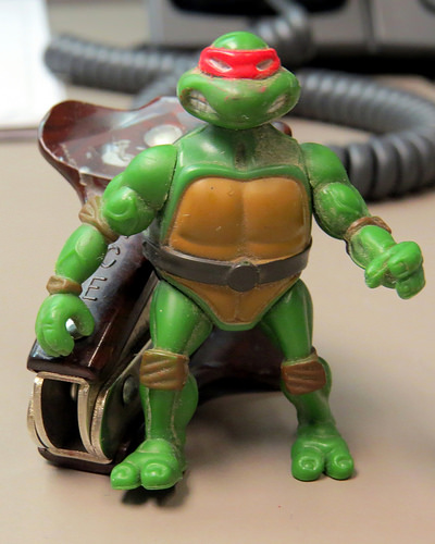 I just shit in his tea but Donatello anyone