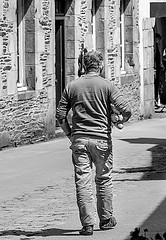 As he walked through the back streets of Marseille, Pierre began to notice some pain underneath his right arm.