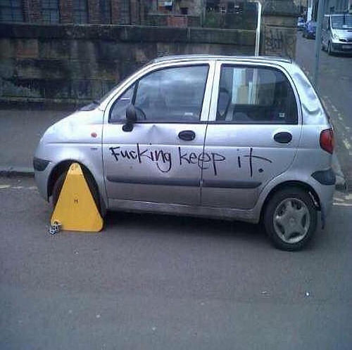 Its good to see theyre clamping down on these graffiti artists.