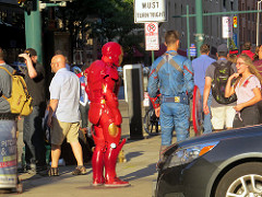 Poor Robert Downey Jr. Whenever he goes out in public people recognise him, even when hes wearing a disguise.