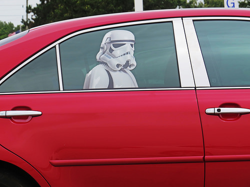 In a Ford Galaxy far far away