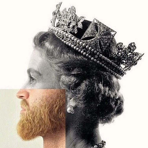 """God, Shave the Queen..."""