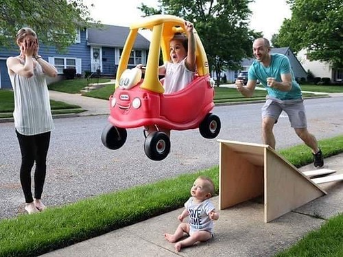 ♫ And shell have fun fun fun til her daddy takes her Little Tikes Classic Cozy Coupe away
