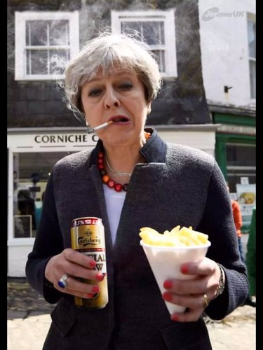 """Brexit? No, that was just funny. It was after I met Trump that I started drinking and smoking"""