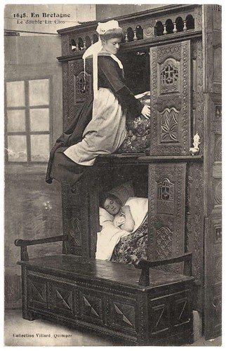 Spare a thought for young Betty, the scullery maid. Shes asleep in the Otterman.