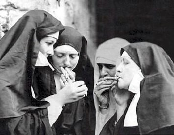 This is a Nun-smoking area.