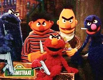 Today, Sesame Street is brought to you by the letters A, K and the number 47.